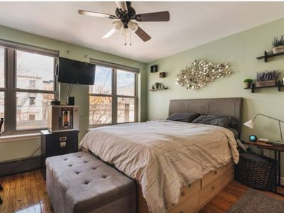 Photo for Large and Sunny Park Slope 1 Bedroom apartment with washer & dryer