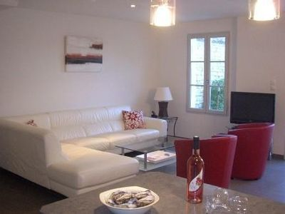 Photo for Superb villa located in the center of the village of La Flotte en Ré