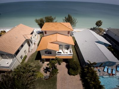 Photo for Directly on the beach  New construction with beautiful views and beach front