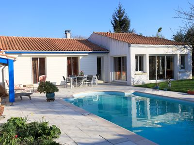 Photo for House with pool - La Rochelle