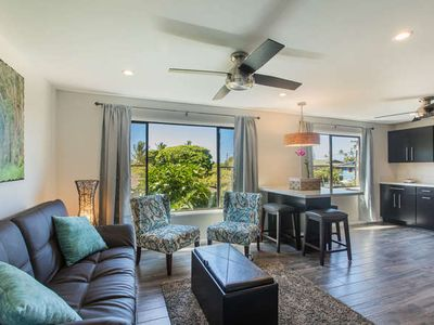 Photo for Kahanalu #5 FULLY Renovated *** WOW***  STEPS to POIPU beach w/ great AC!