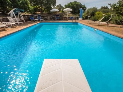 Photo for Alghero a charming villa with swimming pool, wifi, park, for 10 people