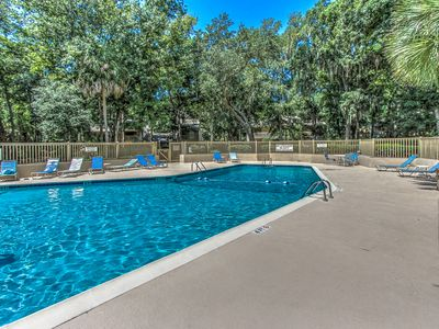 Photo for Updated! New Tile! Granite Counters Gorgeous Pool 3 BR 3 BA Short bike to beach