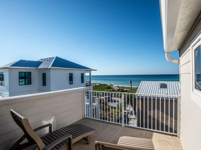 Photo for Memories in Paradise, 30A Cottages, 3 Night Min., Partial Gulf Views, Steps to Sand, 4 Bikes!