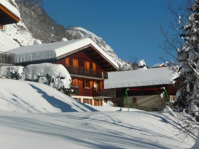 Photo for Flat near the slopes and the resort in Grand Bornand