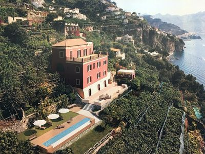 Photo for AMALFI - LUXURIOUS VILLA WITH PRIVATE SWIMMING POOL - FREE WIFI