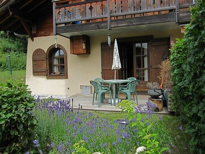 Photo for Charming Well-Equipped Chalet/Apartment Facing Mont Blanc - Ideal Skiing/Walking