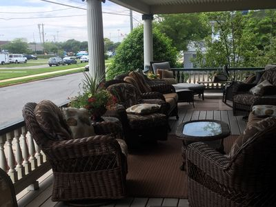 Photo for Wow! Best Porch 4 Your Stay in Ocean City near beach, broadwalk, bay & downtown!