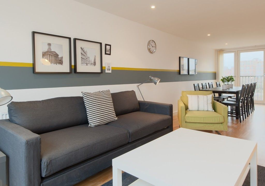 Apartment 226 m from the center of Glasgow with Internet, Washing machine (692723)