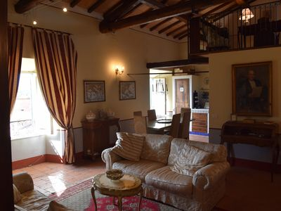 Photo for Historical house with panoramic terrace on the Maremma