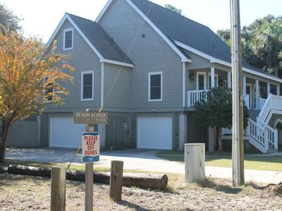 Photo for As close as you can get without paying ocean front price! Very responsive owner