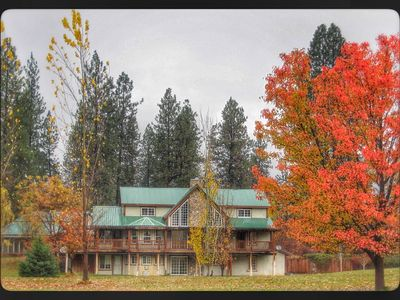 Photo for Enjoy the rustic elegance of our beautiful 4 seasons lodge.
