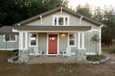 Front view of the Pine View Bungalow