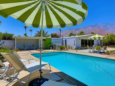 Photo for Poolside In Palm Springs: 2 BR / 2 BA home in Palm Springs, Sleeps 5