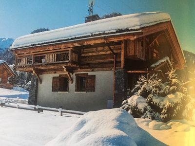 Photo for Famillial Chalet in Megève