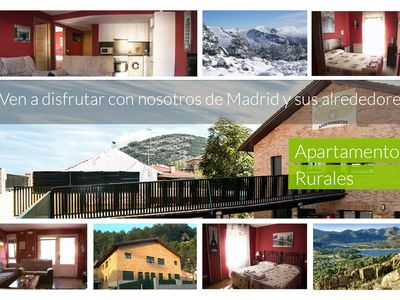 Photo for Luxury rural cottage for 2 people in the Sierra de Guadarrama