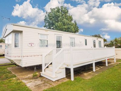 Photo for Caravan for hire in Hunstanton at Manor park holiday park ref 23024
