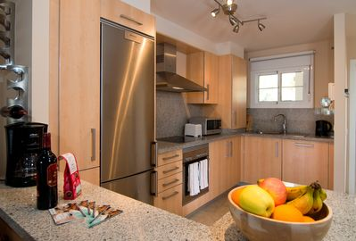 Modern kitchen in our self catering holiday rental