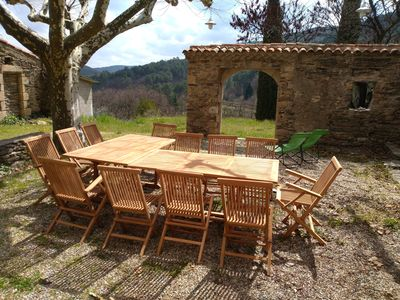 Photo for Facing the forest Cevennes - Mas 210 m²
