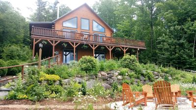 Photo for Stunning sunset views in this mountain lodge in the White Mountains