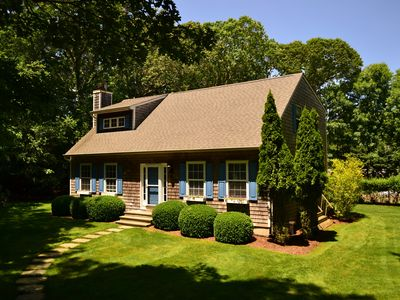 Photo for Charming 4B/3Bth Bridgehampton Cape-Amazing Gunite Heated Salt Pool