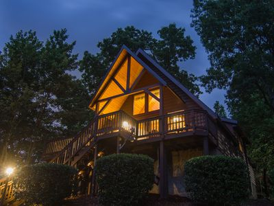 Photo for Perfect Cabin for Couples-Great Views-Hot Tub-WiFi-Privacy
