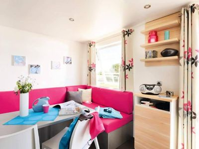 Photo for Camping Domaine Saint Maurice *** - mobile home 4 people - 4 places