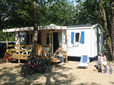 Photo for Camping Le Palace **** - Mobilhome for 6 People