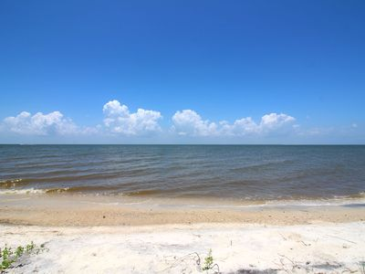 "Photo for NEW LISTING! ""The Beach House""  Charming Waterfront Home, Sleeps 8, Pet Friendly"