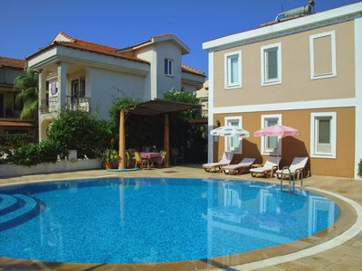 Photo for Villa Dalyan. Lovely Detached villa with pool, 2 min walk to centre of Dalyan