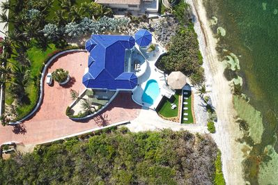 Welcome to Great Bluff Estates! Experience true luxury at this seaside mansion.