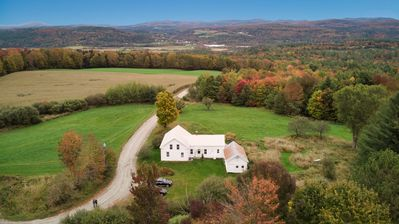 Photo for Classic Vermont Farmhouse  - Gorgeous Views and Privacy