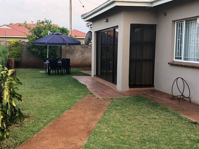 Photo for Compact neat 2 bedroomed cottage with beautiful decor.  Home away from home