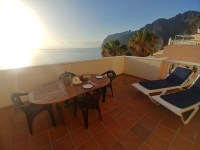 "Photo for Charming Apartment ""Apartamento Los Gigantes"" with Wi-Fi, Balcony & Terrace; Parking Available"