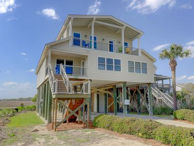 Monthly Rental Options! Stunning Ocean, Marsh, Sunset & River Views! 2nd Row