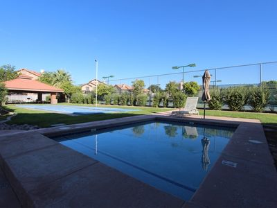 Photo for Sports Village - Great pool/resort amenities for the active family - bring bikes - pet friendly