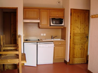 Photo for Apartment at the foot of the slopes in Valmeinier - 2 Room Apartment 4 people