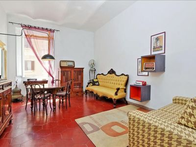 Photo for Spacious Germanico  apartment in Prati with WiFi & lift.