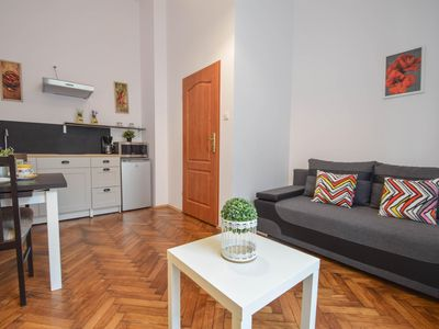 Photo for Galicja 1 apartment in Kazimierz with WiFi.