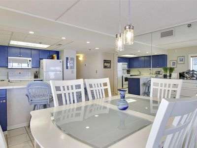 Photo for FREE DAILY ACTIVITIES! LINENS INCLUDED*! Direct Oceanfront 3 bedroom, 2 bath unit in The Plaza