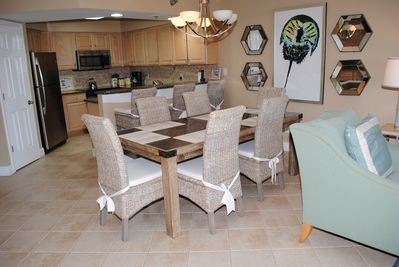 Furnishings updated 2016, granite kitchen counters and stainless appliances.