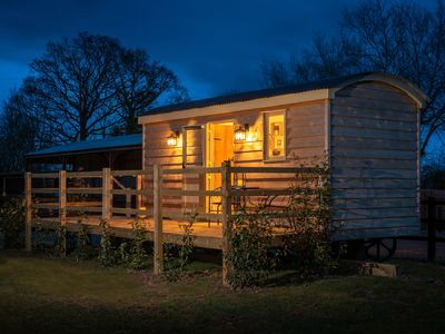 Photo for Quirky and stylish this Shepherds Hut has breathtaking views.