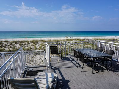 Photo for Pet Friendly, Gulf Front Townhome with an Elevator