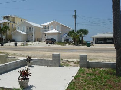 View of Beach Access from front door