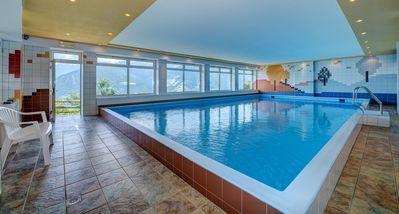 Photo for Indoor pool apartment for max. 3 persons Panoramic view of the Berge single location