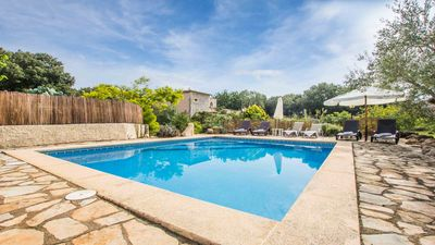 Photo for Typical Mallorcan finca with pool