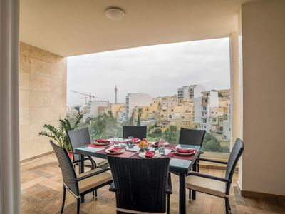 Photo for St. Julians Luxury Valley View Apartment