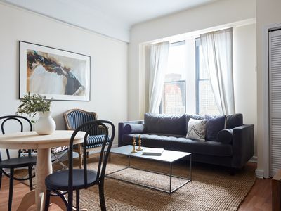 Photo for Sonder | Theater District | Stylish 1BR + Kitchen