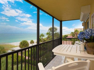 Photo for Enjoy fabulous Beachfront views from this designer-furnished 3 BR /  2 BA condo on Longboat