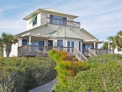 Photo for Mariner's Compass - 3 BR Beachfront Beauty with community pool located in The Plantation